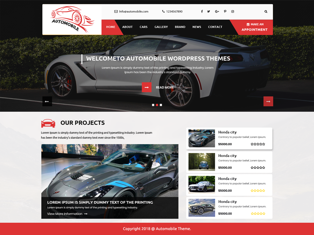 automobile car dealer pro